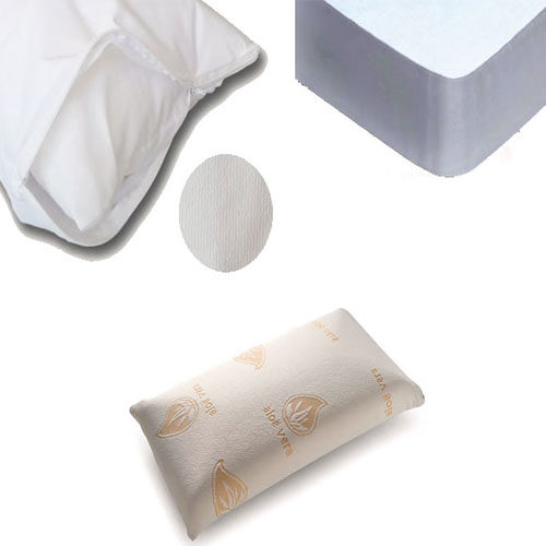 Fundas de almohadas y Protectores de colchón